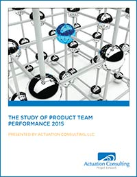 The study: 2015 Study of Product Team Performance