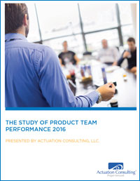 white paper: 2016 Study of Product Team Performance