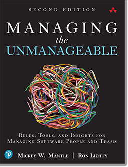 cover of my book: Managing the Unmanageable