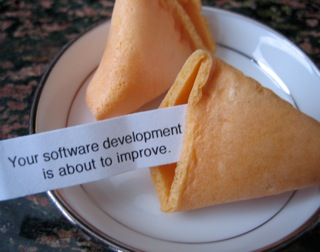 Fortune Cookie: Your software development is about to improve.